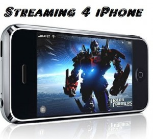 iphone streaming