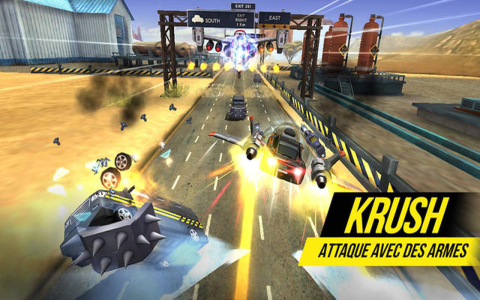 Rush N Krush sur iOS b